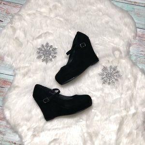 Shoes - Rue 21 Black Wedges Size 6/7